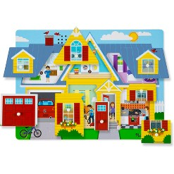 Melissa & Doug Around the House Sound Puzzle Set - 8pc