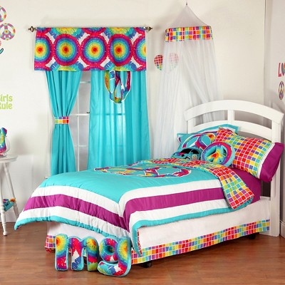 Bon One Grace Place Terrific Tie Dye Bedding Collection