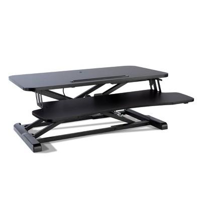 Adjustable Height Large Standing Desk Black - Atlantic : Target