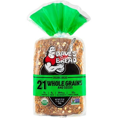 Dave's Killer Bread Organic 21 Whole Grains and Seed Bread - 27oz
