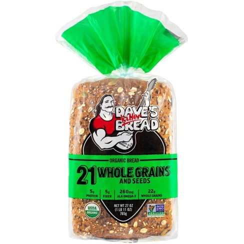 Dave's Killer Bread Organic 21 Whole Grains and Seed Bread - 27oz - image 1 of 4