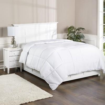 Lakeside Down Alternative Comforter - Warm Comfortable White Bedspread