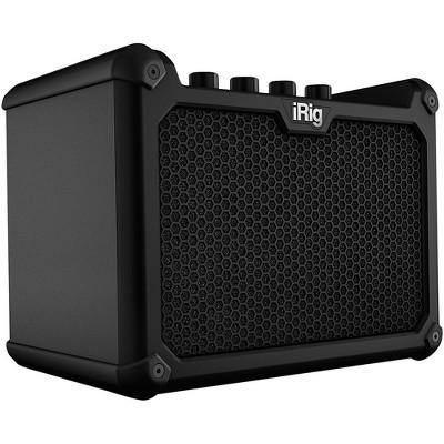 IK Multimedia iRig Micro Amp 15W 1x4 Battery-Powered Guitar Combo Amp Black