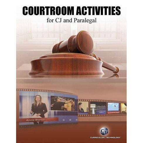 Courtroom Activities for Cj and Paralegal - by  Shel Silver (Paperback) - image 1 of 1