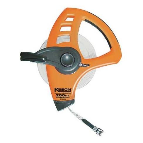 "KESON FLT18M200 200 ft./60M Long Tape Measure, 1/2"" Blade, Orange - image 1 of 1"