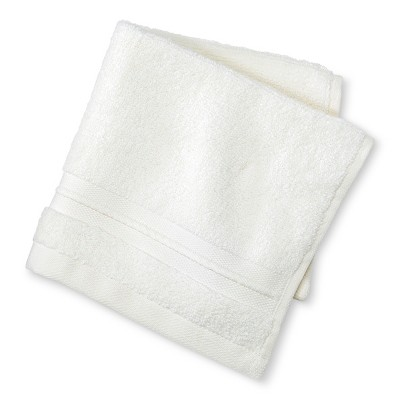 Spa Solid Washcloth Almond Cream - Fieldcrest®