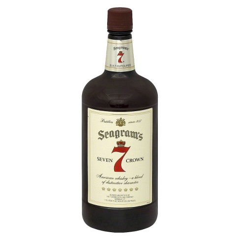Seagram's® Seven Crown American Whiskey - 1.75L Bottle - image 1 of 1