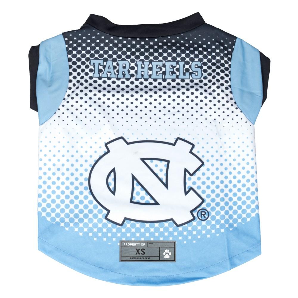 North Carolina Tar Heels Little Earth Pet Performance Football T-Shirt - S