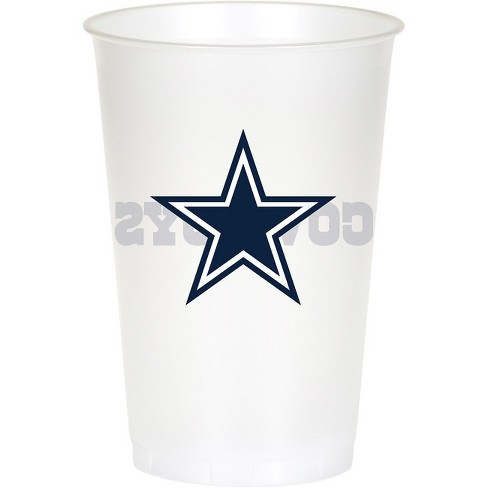 8ct Dallas Cowboys Plastic Cups Target