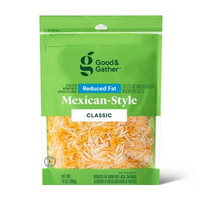 Shredded Reduced Fat Mexican-Style Cheese - 14oz - Good & Gather™