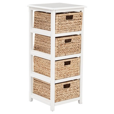 Seabrook Four Storage Unit White - OSP Home Furnishings