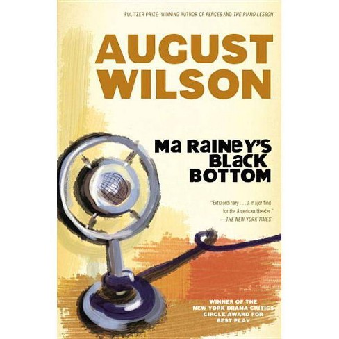 Ma Rainey's Black Bottom - by  August Wilson (Paperback) - image 1 of 1