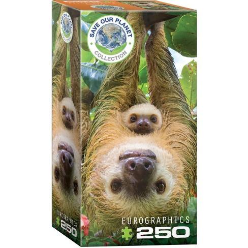 Eurographics Inc. Sloths 250 Piece Jigsaw Puzzle - image 1 of 3