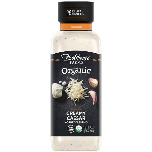 Bolthouse Organic Creamy Caesar Salad Dressing - 12 fl oz - image 1 of 4