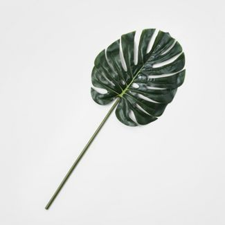 Faux Stem Split Leaf Philodendron - Threshold™