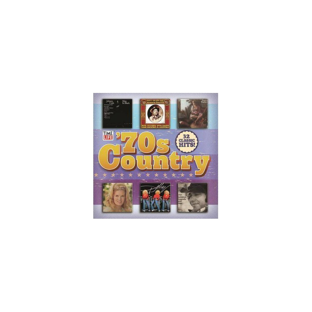 Various 70s Country Collection Cd