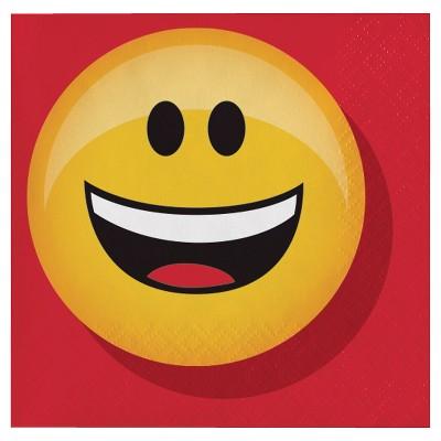 Show Your Emojions Beverage Napkins, 16 pk