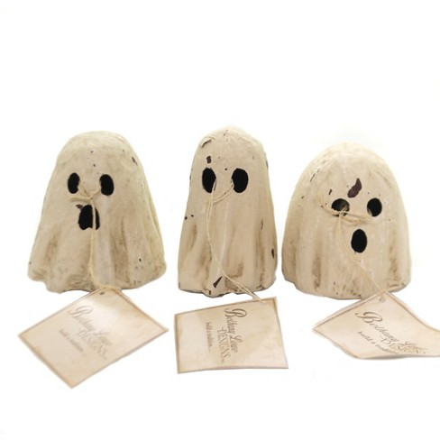 "Halloween 3.25"" Ghoulish Ghost Luminary Happy Haunting - image 1 of 3"