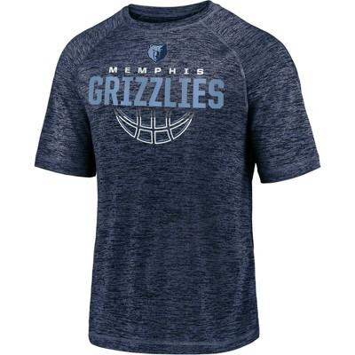 NBA Memphis Grizzlies Men's Synthetic Short Sleeve T-Shirt