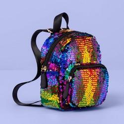 Girls' Flip Sequin Mini Backpack - More Than Magic™