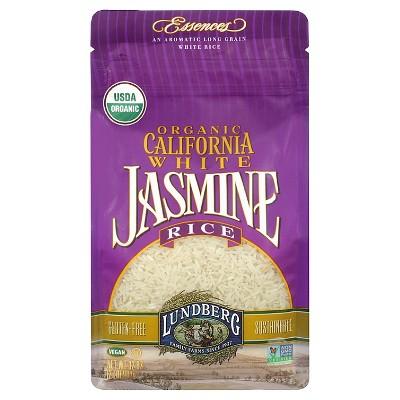 Lundberg Organic Long Grain California White Jasmine Rice - 2lbs