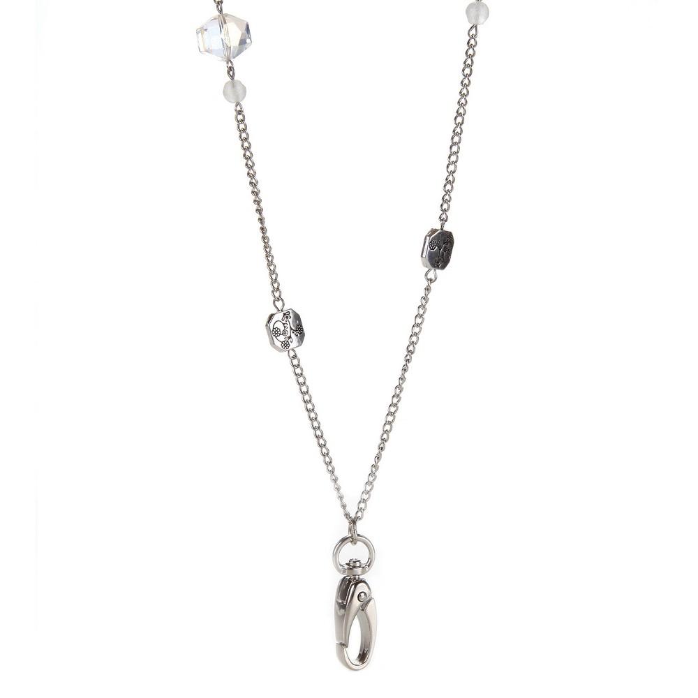 Image of ID Avenue Chain Lanyard Acacia, Silver
