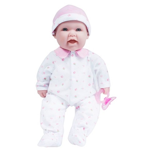"JC Toys La Baby 16"" Washable Soft Body Pink Play Doll Designed by Berenguer - image 1 of 5"