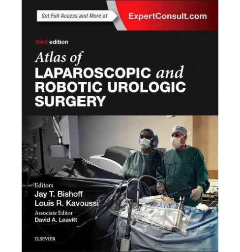 Atlas of Laparoscopic and Robotic Urologic Surgery (Hardcover) (Jay T. Bishoff & Louis R. Kavoussi) - image 1 of 1