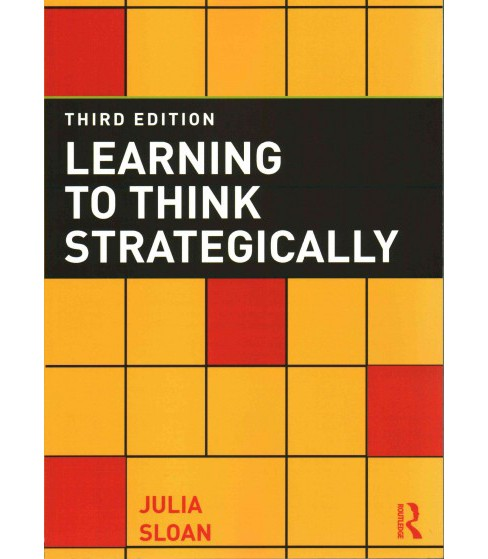 Learning to Think Strategically (Paperback) (Julia Sloan) - image 1 of 1