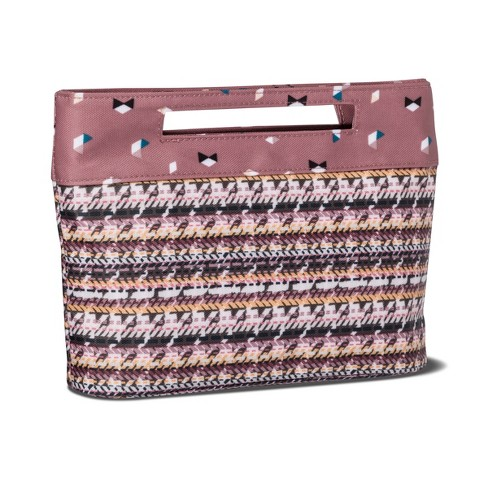 ebb56c2bbe00 Sonia Kashuk™ Cosmetic Bag Modern Pouch Broken Houndstooth   Target