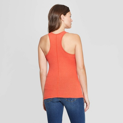 25583ea62c01 Women's Slim Fit Scoop Neck Rib Racerback Scoop Neck Tank Top - Universal  Thread™