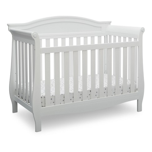 Delta Children Lancaster 4 In 1 Convertible Crib Bianca