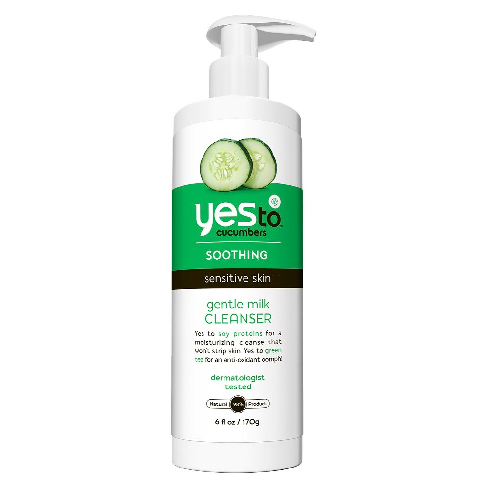 Yes to Cucumbers Gentle Milk Cleanser - 6 fl oz