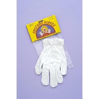 Forum Novelties White Circus Clown Adult Costume Gloves