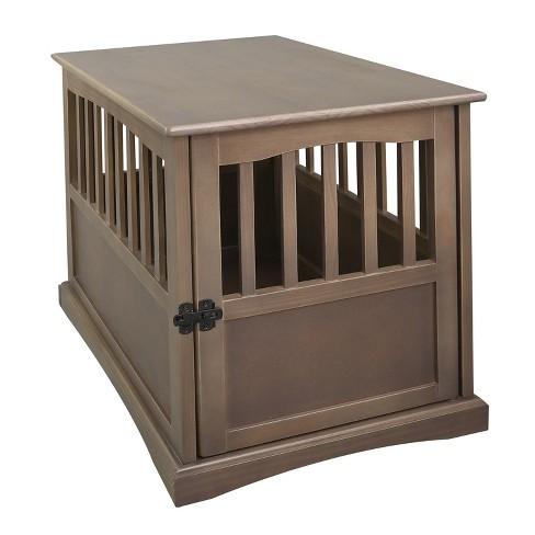 Casual Home Um Wooden Indoor Pet, Dog Crate Wooden Furniture