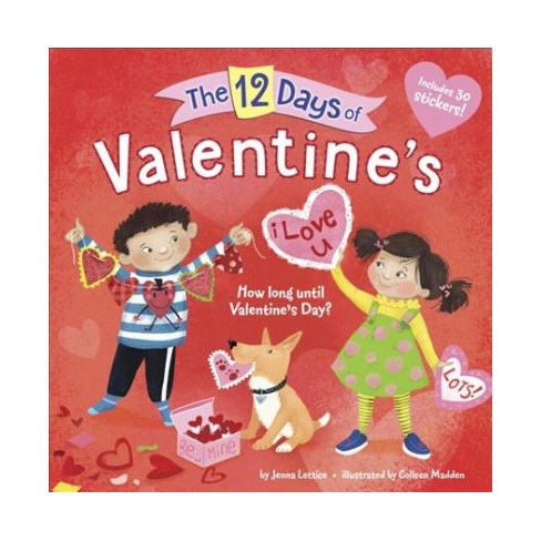 The 12 Days of Valentine's - (Pictureback(r)) by  Jenna Lettice (Paperback) - image 1 of 1