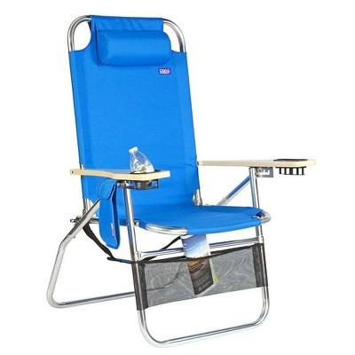 Copa Big Papa 4 Position Folding Aluminum Beach Lounge Chair