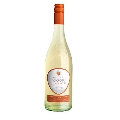 Castello Del Poggio Moscato White Wine - 750ml Bottle
