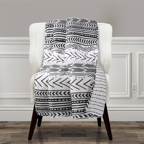 Lush Décor Hygge Geo Throw Blanket - image 1 of 2
