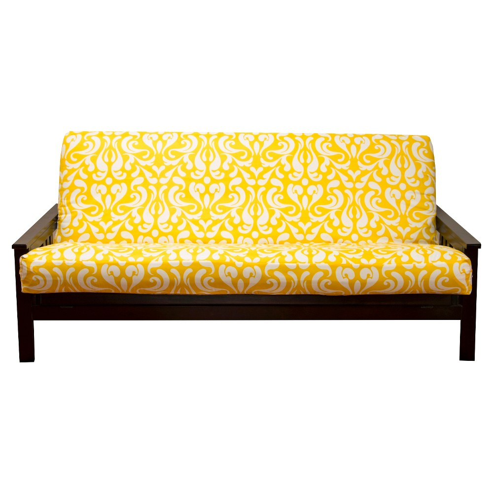 Image of Adele Full Futon Cover Yellow - Siscovers
