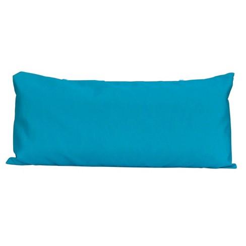 Algoma Deluxe Sunbrella Hammock Pillow - Canvas Teal - image 1 of 4