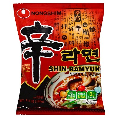 Nong Shim Instant Shin Ramyun - 4.23oz