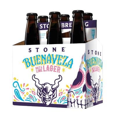 Stone Buenaveza Salt & Lime Lager Beer - 6pk/12 fl oz Bottles