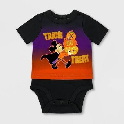 Baby Boys' Disney Mickey Mouse Bodysuit - Black - Disney Store