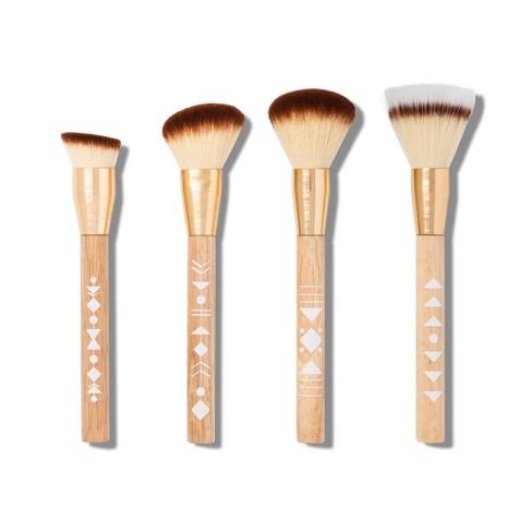 2368105fc9f Sonia Kashuk™ Limited Edition Tribal Makeup Brush Set - 4pc : Target