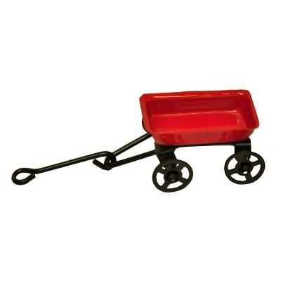 12' Metal - Lawn Decor Set - Red - MiniGarden