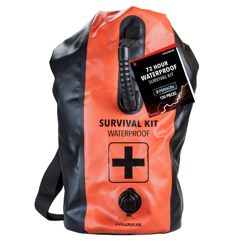Life+Gear 2 Person 72hr Waterproof Dry Bag First Aid + Survival kit - image 1 of 4