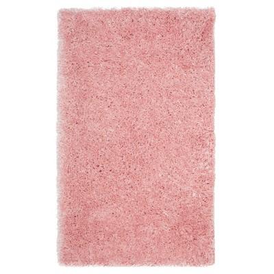 Light Pink Solid Loomed Area Rug - (4'X6')- Safavieh®