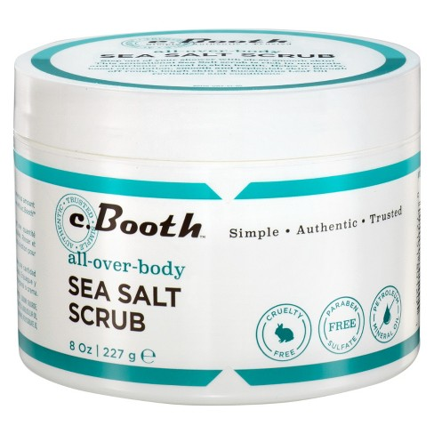 c.Booth All-Over-Body Sea Salt Scrub 8 oz - image 1 of 1
