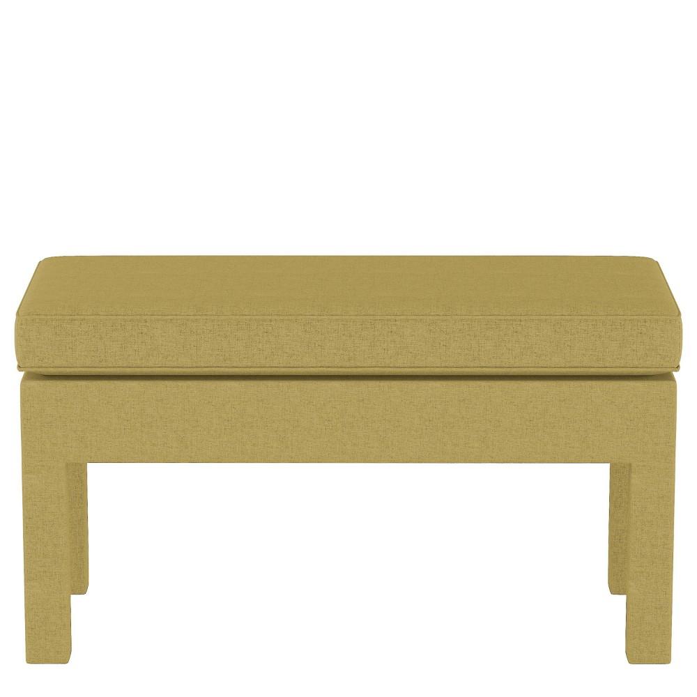 Upholstered Bench in Zuma Gold - Threshold